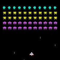 レトロシューティングゲーム「エイリアンズ」のサムネイル