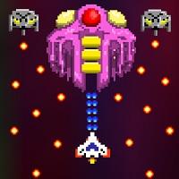 本格レトロ風2Dトップビューシューティングゲーム「コスモファイター」のサムネイル