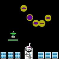 2機を同時に操作するシューティングゲーム「キープアウト」のサムネイル