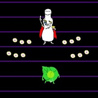 アホなシューティングゲーム「世紀末サラダ伝 完結編」のサムネイル